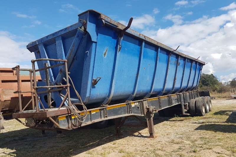 Trailers Other Tri-Axle 3 Axle Side Tipper Trailer 0