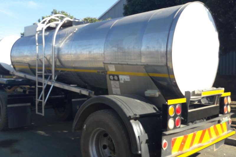 Other Used 8 000LT Milk Drawbar Tanker Available Trailers