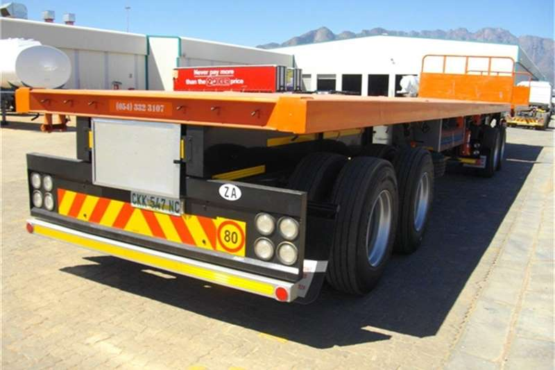 Paramount Flat deck 6/12 Flatbed Interlink Trailers