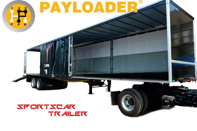 Payloader Car carrier Sports Car Carrier Trailers