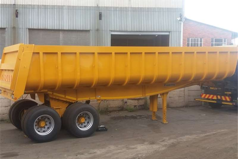 Payloader End tipping 25 Cube Copelyn Tipper Trailers