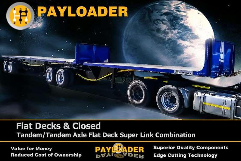 Payloader Flat deck Flatdeck Links Trailers