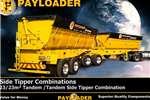 Trailers Payloader Side tipper 23/23m³ Tandem /Tandem Si 0