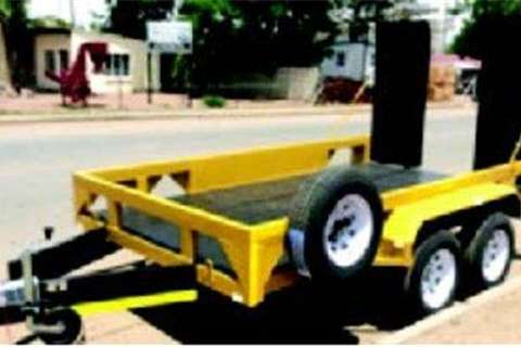 Trailers Platinum Forklift Trailer 3.5 Ton 0