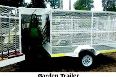 Trailers Platinum Garden Trailer- 2015