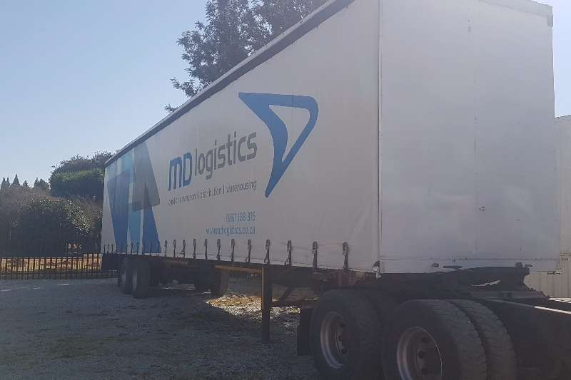 Poole Double axle tautliner trailer Trailers