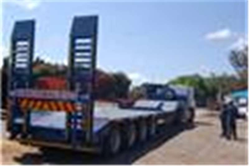 PR Trailers Lowbed Quad Axle Lowbed Trailers