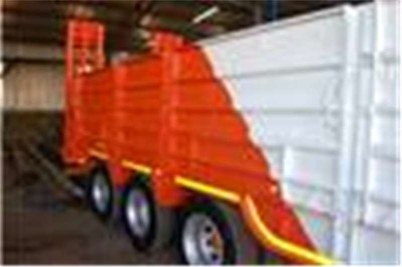 PR Trailers Lowbed Tri Axle Lowbed Trailers