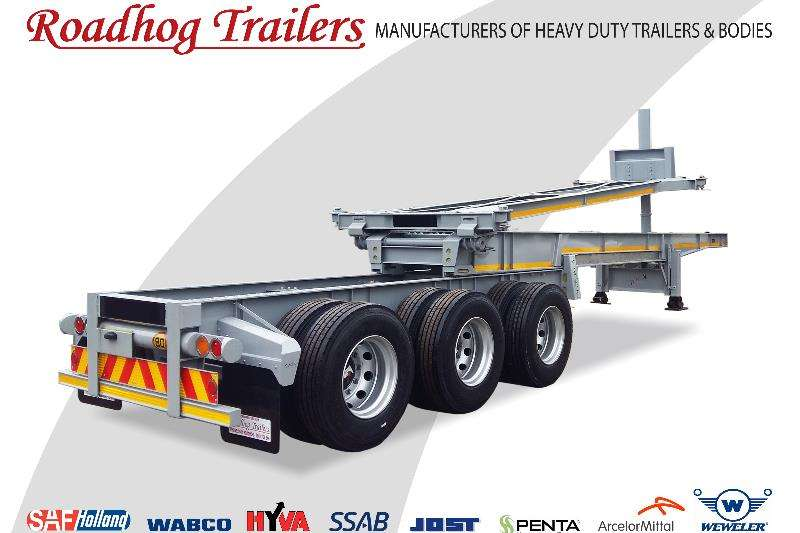 Roadhog Extendable Retractable Tipping Skeletal Trailers