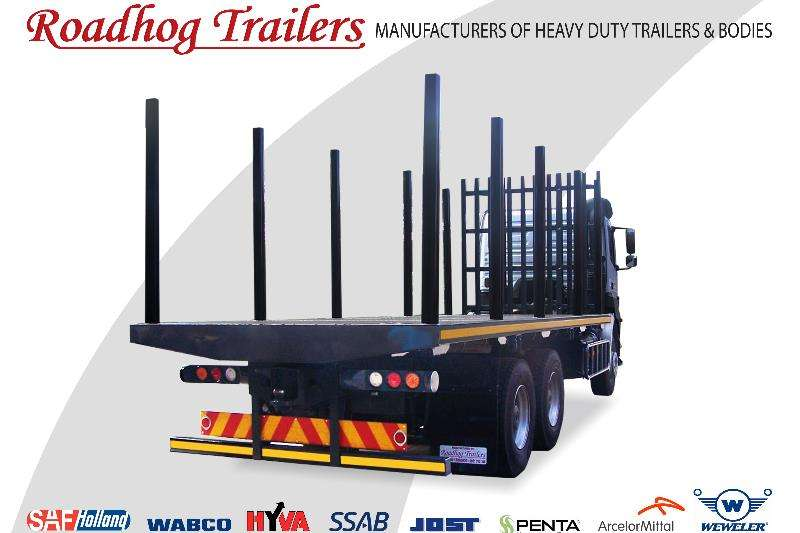 Roadhog Flat deck Flat Deck Rigid Trailers