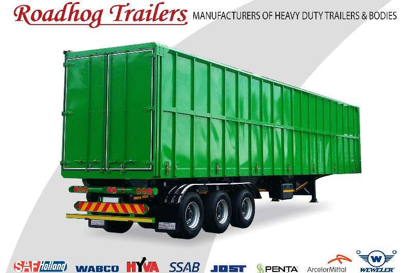 Roadhog Specialist vehicle Walking Floor Trailers