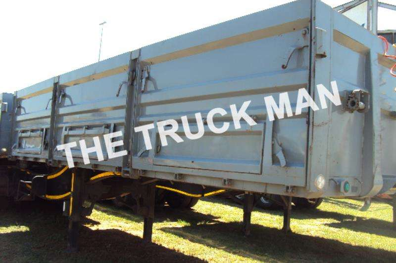 Rumar Grain carrier DROPSIDE SUPERLINK Trailers