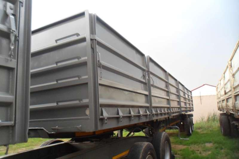 SA Truck Bodies 2013 SA TRUCK BODY 1.2 METER MASS SIDE 3 STAGE TIP Trailers