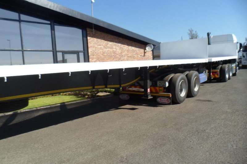 SA Truck Bodies 2017 NEW SATB 6 X 12 FLAT DECK SUPER LINKS COMPLET Trailers