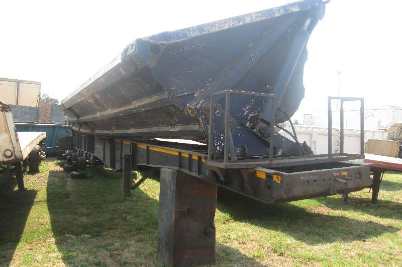 SA Truck Bodies 24Cubic Side-Tipper Trailer Trailers