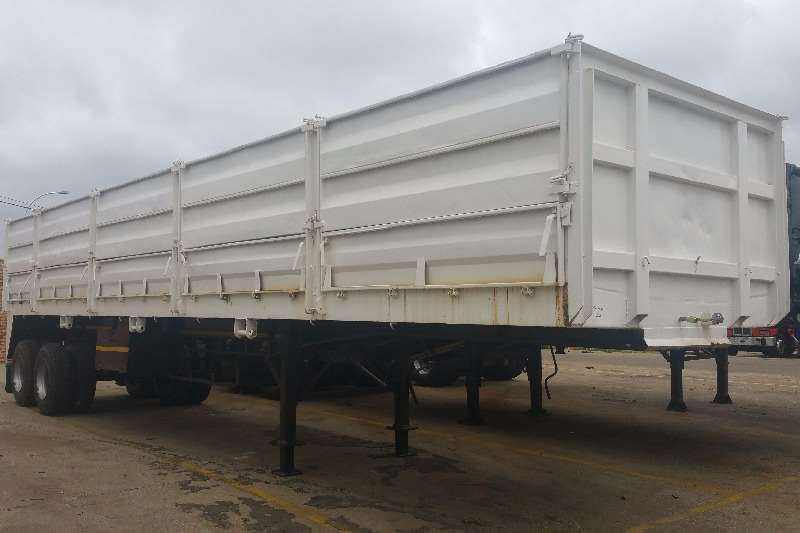Trailers SA Truck Bodies Double Axle Dropside semi trailer 1997