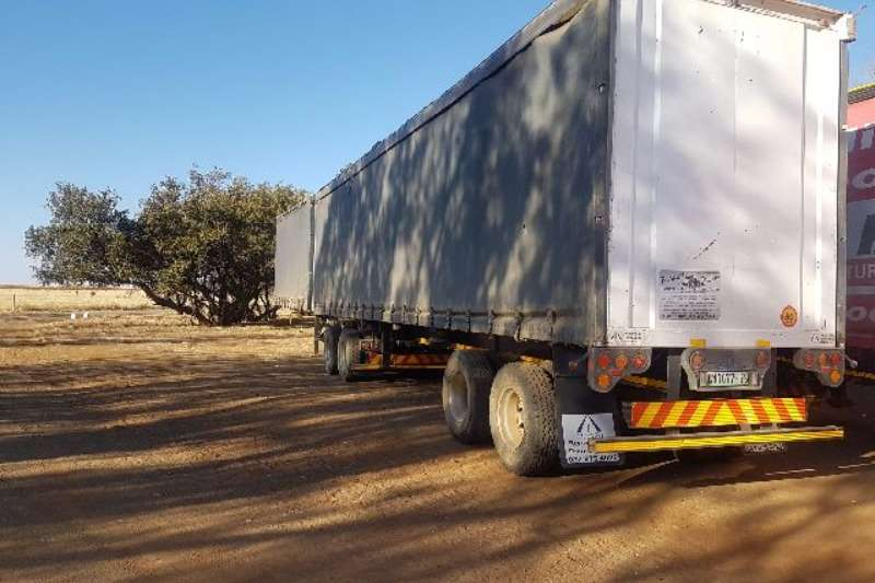 SA Truck Bodies Double axle Tautliner Trailers
