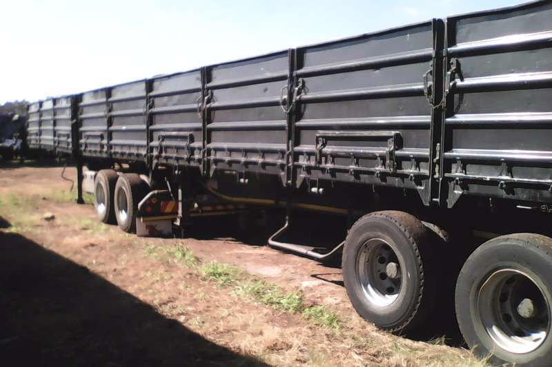 SA Truck Bodies Dropside Dropside superlink Air susp Trailers
