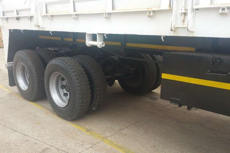 SA Truck Bodies Dropside Dropside tandem axle semi Trailers