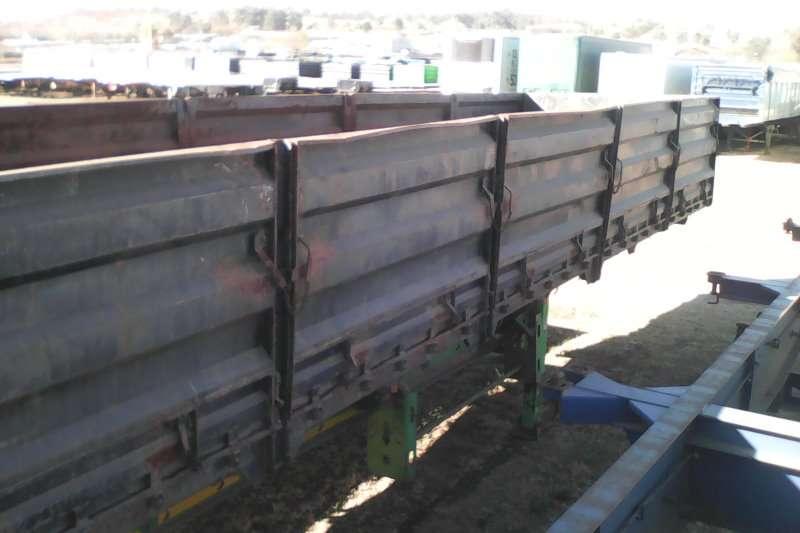 SA Truck Bodies Dropside Tridem dropside Trailers