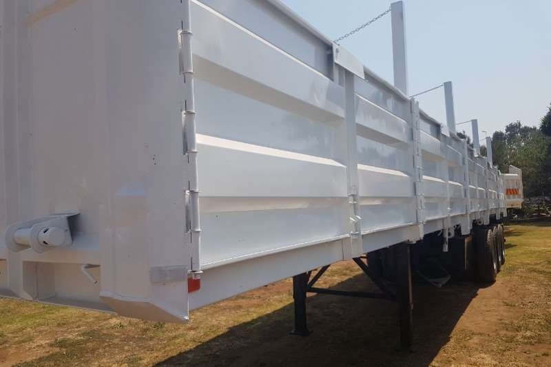 SA Truck Bodies Flat deck 14 m Flat Deck with Mass sides Trailers