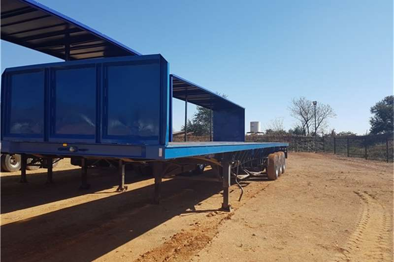 SA Truck Bodies Flat deck Tri Axle Trailers