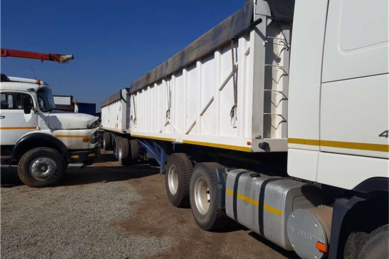 SA Truck Bodies Interlink Bottom Dumper Trailers