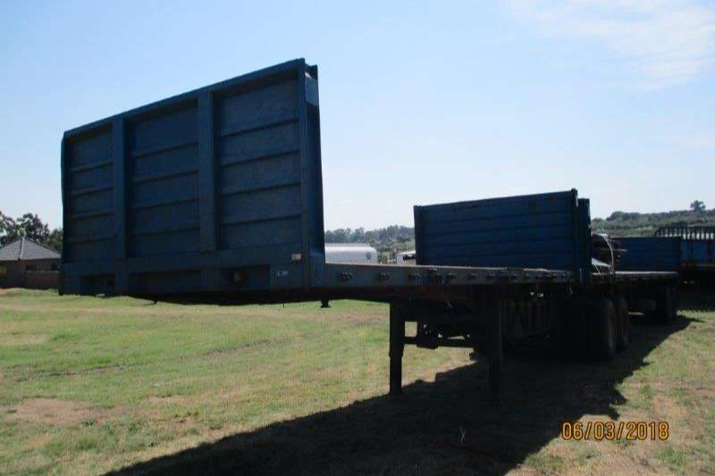 SA Truck Bodies Interlink SA TRUCK BODIES INTERLINK FLAT DECK WITH SIDES Trailers