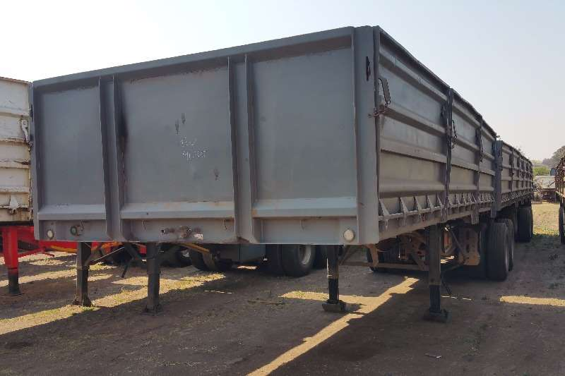 SA Truck Bodies Mass side Dropside superlink Trailers