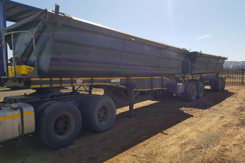 Trailers SA Truck Bodies Side Tipper 40 Cube 2012