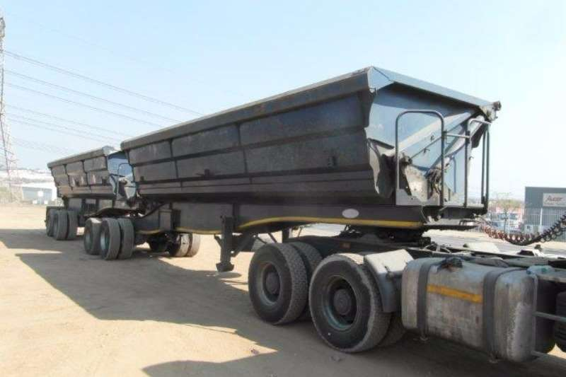 Trailers SA Truck Bodies Side Tipper Interlink Side Tipper Trailer 2012