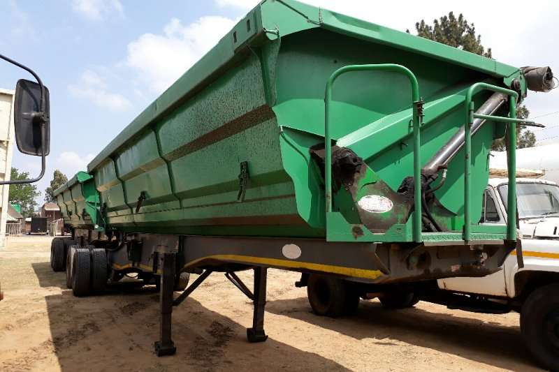 Trailers SA Truck Bodies Side Tipper Link 2011