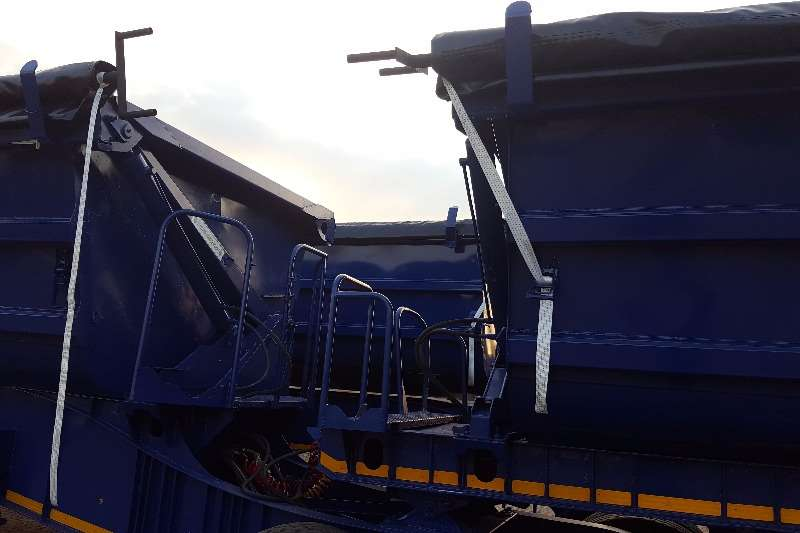 SA Truck Bodies Side tipper SATB SIDE TIPPER FULLY REFURBISHED Trailers