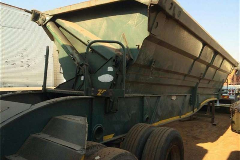 SA Truck Bodies Side tipper Tandem Axle Side Tiper Trailers