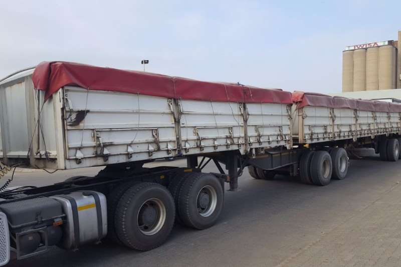 SA Truck Bodies Superlink 2004 SATB SUPERLINK 1.2m MASS SIDES Trailers