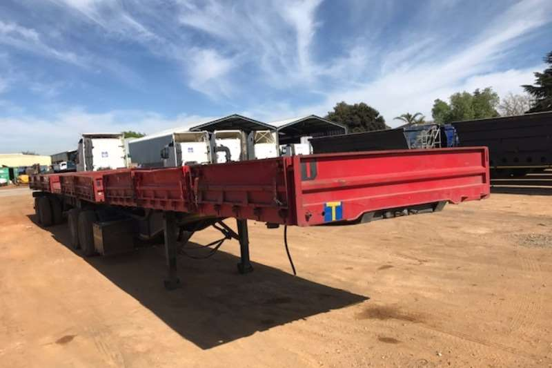 SA Truck Bodies Superlink Superlink Dropside Side Tipper Trailer Trailers