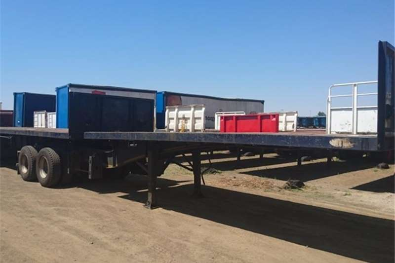 Trailers SA Truck Bodies Superlink Superlink Flatdeck 2013