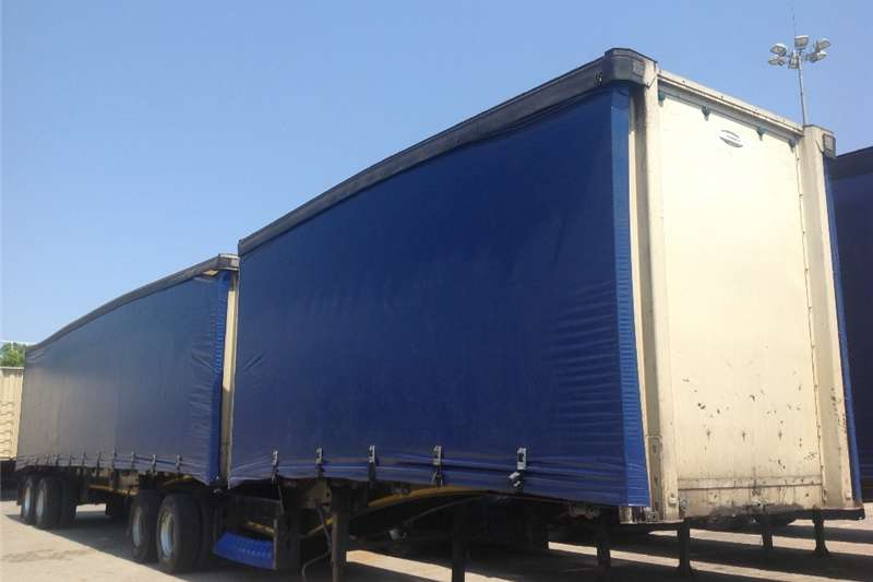 SA Truck Bodies Tautliner Interlink Semi Trailer  Trailers