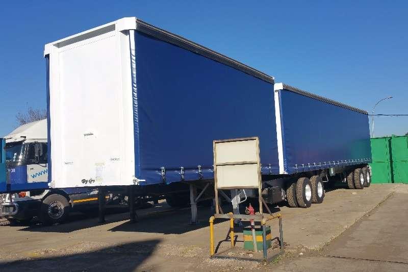 SA Truck Bodies Tautliner Tautliner Superlink Trailers