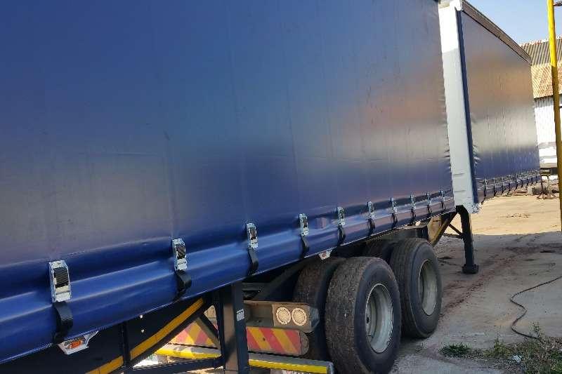 SA Truck Bodies Tautliner Tautliner Superlink Air susp Trailers