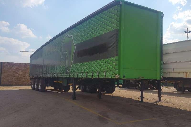 SA Truck Bodies Tautliner Tridem Tautliner 14.5mt Trailers