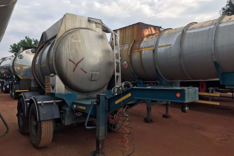 Samtor Stainless steel tank 2 x SAMTOR Acid Pup Trailers available Trailers