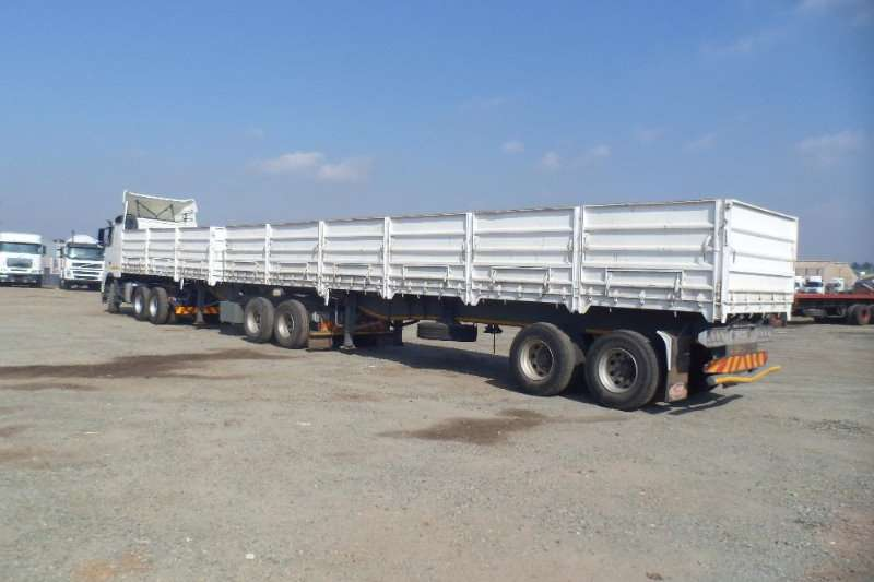 SATB 6X12 1.2 METER MASS SIDE SUPER LINK Trailers