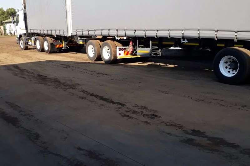 SATB Acid tanker SA TRUCK BODIES TAUTLINER SUPERLINK, REFURBISHED Trailers