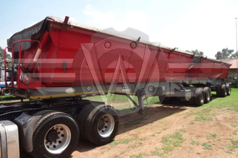 SATB Interlink Side Tippers Trailers