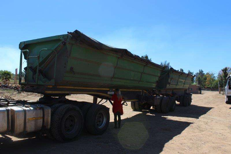 Trailers SATB SA TRUCK BODIES SIDE TIPPER LINK TRAILER 0