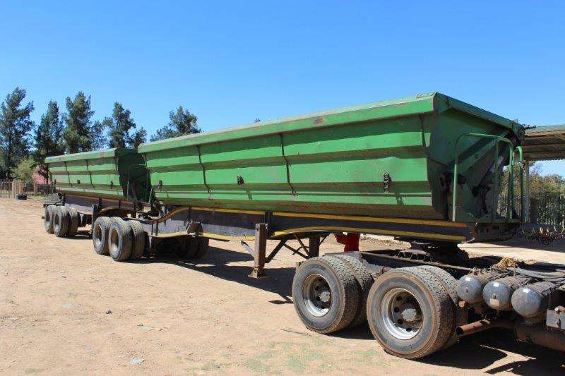 SATB SA TRUCK BODIES SIDE TIPPER LINK TRAILER Trailers