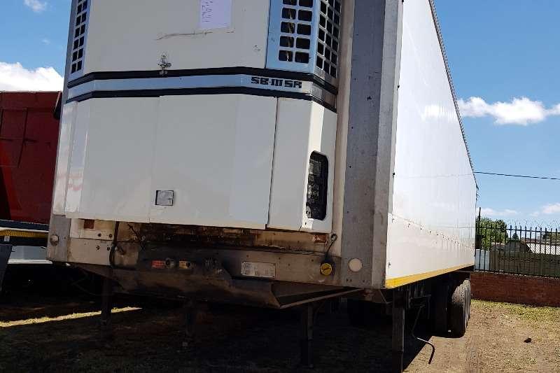 Serco Insulated fridge unit Serco (Flexi Fleet) Tri-Axle Fridge Trailer Trailers