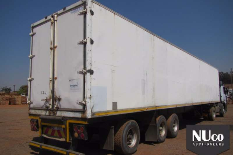 Serco Refrigerated trailer SERCO TRI AXLE REFRIGERATED TRAILER Trailers