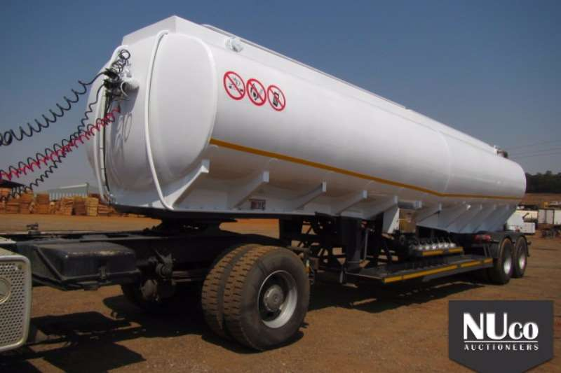 Trailers Tank Clinic Fuel Tanker DOUBLE AXLE 6 COMPARTMENT 38000L FUEL TANKER 0